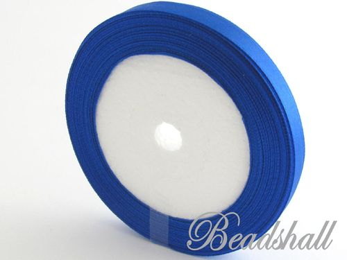1 Rolle Satinband Blau 10 mm