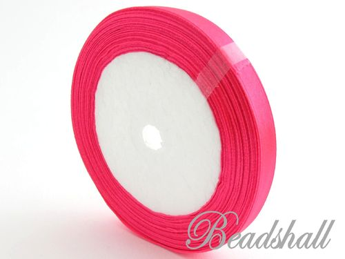1 Rolle Satinband Pink 10 mm