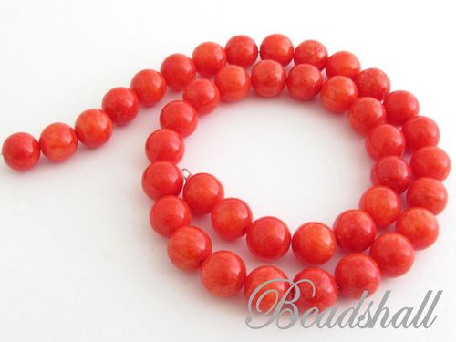 Jade 10 mm Rot-Orange
